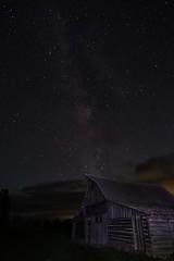 DSCF9303lr (HDRob) Tags: milkyway mormonrow barn grandtetonnationalpark grandtetons lanscape astrophotography