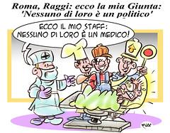 RaggiStaff (Moise-Creativo Galattico) Tags: roma vignette satira raggi politica attualit moise giornalismo editoriali moiseditoriali editorialiafumetti