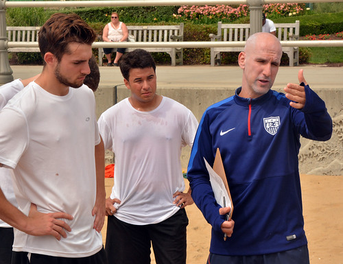 U.S. National Beach Soccer Team Identification Camp