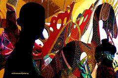 MANNEQUINS AND ALEBRIJES (Mexican Prehispanic Art). (Viktor Manuel 990) Tags: mxico surrealism digitalart manniquins artedigital vividcolors quertaro alebrijes maniques victormanuelgmezg