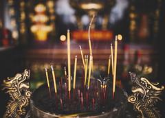 The Spirit of Asia (desomnis) Tags: asia southeastasia dof bokeh depthoffield vietnam josssticks incensestick incensesticks