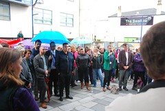 """Plymouth Stands with Orlando outside The Swallow • <a style=""""font-size:0.8em;"""" href=""""http://www.flickr.com/photos/66700933@N06/27678427641/"""" target=""""_blank"""">View on Flickr</a>"""
