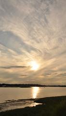 River Blackwater (amanda.parker377) Tags: boats seawall essex cloudformation eveninglight heybridgebasin riverblackwater
