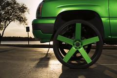 Chevy Silverado on 30'' Dub Ballers (Dub_Wheels) Tags: wheels chevy rims silverado dub 30s dubwheels