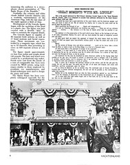 Vacationland Fall 1965 06 - Great Moments With Mr. Lincoln (Tom Simpson) Tags: vintage disneyland disney 1960s vacationland 1965 vintagedisneyland vintagedisney greatmomentswithmrlincoln