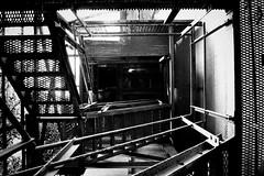 Untitled (58) (FR4GIL3) Tags: france architecture stair pentax grille escalier mtal usine fer k5 batiment abandonne