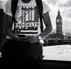 Paradoxical (Peter Murrell) Tags: portrait london bigben contradiction westminsterbridge brooklynny brooklynnewyork