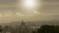lever du jour...sur Namur (Yasmine Hens) Tags: sun church fog landscape lumix soleil europa flickr belgium ngc panasonic glise brouillard namur hens yasmine wallonie leverdujour cathdralesaintaubain iamflickr flickrunitedaward hensyasmine