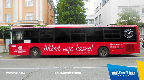Info Media Group - Centar Za Obrazovanje, BUS Outdoor Advertising, 06-2016 (2)