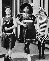 Arbuckle (kevin63) Tags: beach photo silent comedian lightner impersonation busterkeaton roscoearbuckle missfattyarbuckle