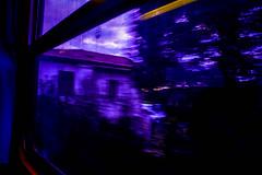 Train back from Pisa. (Narella Dc) Tags: road new trip travel blue light italy usa dog rome roma film me car tattoo dark lens photography lights florence nikon mine open paolo miami milano pisa firenze theo dank lightroom aesthetic colre gosselin raeli coltre wanderess
