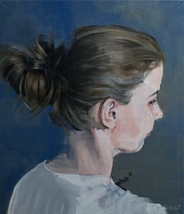DSC_6523+web (jiri.metod) Tags: portrait people woman girl painting oil oilpainting womanhair