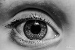 Occhio di Emma BN (JackX91) Tags: light eye beauty eyes occhi occhio luce bellezza bimbi bambino iride pupilla
