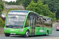 YJ16DVG Transdev in Keighley Optare Solo SR 153 (Sharksmith) Tags: bus 153 keighley transdev optaresolo longlee thwaitesbrow optaresolosr route705 transdevinkeighley thekeighleybuscompany yj16dvg thwaitesbrowroad