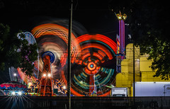 ring leader (pbo31) Tags: california light summer motion black color june night nikon ride fair spinning butler bayarea zipper rides eastbay midway pleasanton alamedacounty footloose 2016 lightstream boury pbo31 d810 amuesments