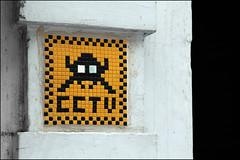 Invader (Alex Ellison) Tags: eastlondon urban streetart spaceinvader invasion mosaic tiles cctv shoreditch
