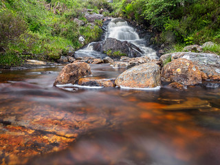 Waterfall in Glen Affric