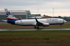 SunExpress TC-SOA, OSL ENGM Gardermoen (Inger Bjrndal Foss) Tags: tcsoa sunexpress boeing 737 osl engm norway gardermoen