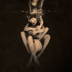 holding on to broken pieces II (brookeshaden) Tags: underwater surrealism fineart conceptualphotography brookeshaden