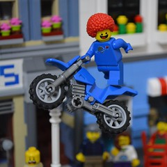 1980's Daredevil Something Something (Gunner S Lego) Tags: classic movie lego space motorbike 1989 1983 bent 1980 1980s daredevil legospace