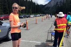 Leg 7 Runner Ready (Downhillnut) Tags: mountains calgary race kananaskis longview relay nakiska 2016 crr 100miles relayteam 10runners calgaryroadrunners