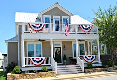 Independence Day Decor (The Waters AL) Tags: independence new homes lake america stars real freedom day estate stripes 4th july flags cameron waters fourth realty