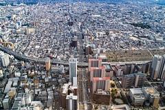 Osaka city view (shinichiro*) Tags: 20160623sdim3750 2016 crazyshhin sigmasd1merrill sd1m sigma18300mmf3563dcmacrooshsm june summer osaka abenoharukas    japan