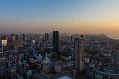 Osaka at sunset (Fotodave42) Tags: japan   osaka