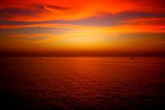 sailing in a red world -Tel-Aviv beach (Lior. L) Tags: world sunset red beach telaviv sailing silhouettes wideangle sailboats sailinginaredworldtelavivbeach