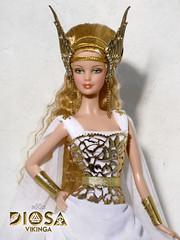 Freyja. Diosa Vikinga (Viking Goddess) (davidbocci.es/refugiorosa) Tags: freyja diosa vikinga viking goddess barbie mattel fashion doll mueca refugio rosa david bocci ooak