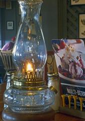 hurricanecbarrel2 (buickstyle232) Tags: crackerbarrel parkcitykansas oillamps hurricanelamps diningroom restaurants wichitakansas