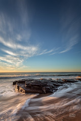 Slow change (Mike Hankey.) Tags: seascape colour sunrise focus published lowtide turimetta