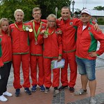 Liepaja Tennis Sport school at Latvian Olympics, July 2016