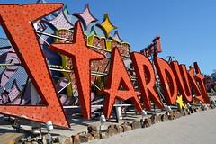 Stardust (warmheartcold) Tags: lasvegas nevada 2016 roadsideamerica neonboneyard vintage signs stardust