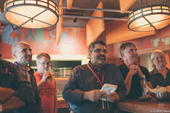 Listening to Tales (Mark Griffith) Tags: seattle work amazon amazoncom retirementparty goingaway adrianinglis sonyrx1m2 sonyrx1rm2 20160705dsc06785