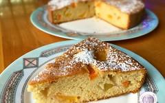 Ricetta della torta soffice pesche e albicocche (RicetteItalia) Tags: cucina dolci ricette pesche