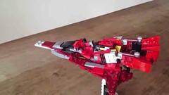 LEGO ROBO (alfa145q_lego) Tags: lego legocreator redcreatures 31032 mecha vehicletransporter 31033 rebuild alternate