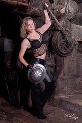 Working Woman (1) (R Childress) Tags: industrial michelle leal workingwoman
