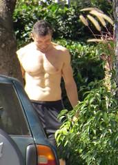 IMG_5690 (danimaniacs) Tags: shirtless man hot sexy guy pecs hunk stuff westhollywood scruff mansolo