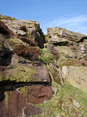 Almscliffe Crag: On a May Morning (CurlewRiver) Tags: uk england rocks yorkshire almscliffecrag gritstone