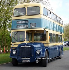 Preserved West Bromwich Corporation 248 248 NEA - Daimler CVG6/30 (retroscania!) Tags: preservedbuses
