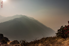 Shadows in haze (Ru Stam) Tags: nepal mountains trekking canon landscape haze shadows poonhill 1755mm canon1755f28 canonefs1755mmf28isusm canon50d