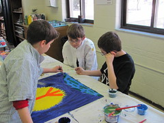 Jeffery, Owen, and Angelo, 4th grade students at Divine Child Elementary School in Dearborn, MI (The Dream Rocket Project) Tags: christmas family school trees people mountain newyork green art home water nova animal glitter kids trash stars religious washington community war paint peace kentucky space flag unitedstatesofamerica group cancer conservation diversity astronaut felt save aliens nasa clean explore health environment leader twintowers express olympic agriculture racism elementary planting abuse humans equality global facebook discover intolerance saturnvrocket presidentobama internationalfibercollaborative thedreamrocket
