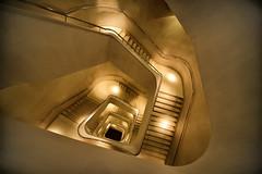 Escaleras de seda (Fotourbana) Tags: flickrdiamond caixaforummadrid