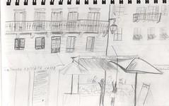 NizzaPlace0512 (LadyCountryegg) Tags: france sketch nice frankreich place dessin dibujo disegno nizza croquis zeichnung skizze schizzo esquise