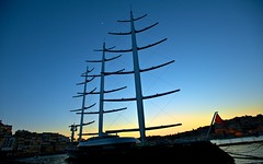 Sailing Boat, Vittoriosa, Malta (otto_m1) Tags: africa sailboat mediterranean south central malta location sicily yachts berth businesspeople vittoriosa wellheeled 150nauticalmiles
