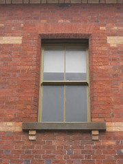 Window Detail of the Former Ballarat Police Station and Barracks - Camp Street, Ballarat (raaen99) Tags: city building brick window architecture facade 19thcentury victorian australia victoria victoriana residence policestation lawandorder 1886 ballarat goldrush victorianarchitecture redbrick nineteenthcentury 1880s countryvictoria campstreet policedepartment civicbuilding constabulary policeforce victorianbuilding clinkerbrick policebarracks campst doublestorey goldrushera provincialvictoria featurebrick ballaratpolicestation ballaratpolicebarracks