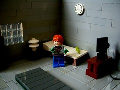 Like father, like son (Big Green Sea Monster) Tags: bedroom lego father like son lizard billy curt marvel connors serum