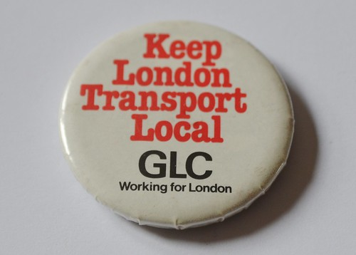 Old GLC badge