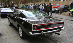 1970 PLYMOUTH BARRACUDA (shagracer) Tags: plymouth barracuda coupe fastback american vehicle yank car cars motor muscle hds592h tnb63j queen square bristol classic meet adc breakfast club avenue drivers
